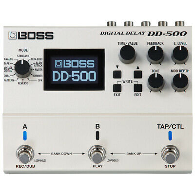 Boss DD-500 Digital Delay Pedal • 349£