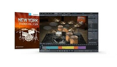 Toontrack New York Studios Vol.3 Sdx Sound Library Kit For Superior Drummer • 122.09£