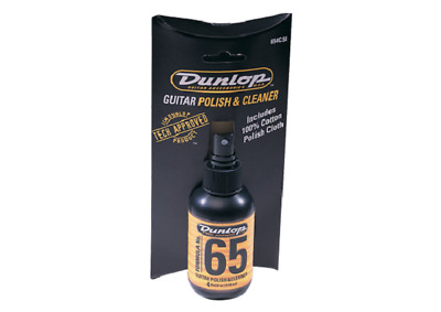 Jim Dunlop 654C Formula No.65  Polish & Cloth Combo • 10.35£