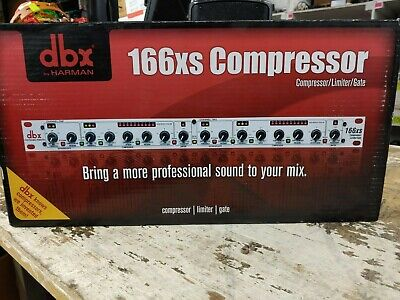 DBX 166xs Compressor - BRAND NEW IN BOX! • 194.96£