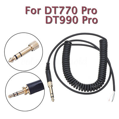 Replacement Cable Cord Wire Plug For Beyerdynamic DT770 DT990 PRO Headphones • 6.73£