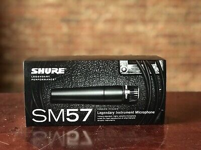 Shure SM57 Legendary Instrument Microphone Cardioid Dynamic Pro Audio • 81.68£