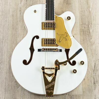 Gretsch G6136T-WHT Players Edition Falcon Guitar, Filter'Tron Pickups, White • 2,725.53£