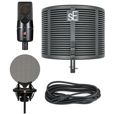 SE Electronics X1 S Studio Bundle (Microphone, Reflection & Pop Filter, Cable) • 190.59£