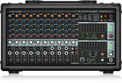 Bellinger Powered Mixer 2000 Watts 14Ch Effector Pmp2000D • 505.98£