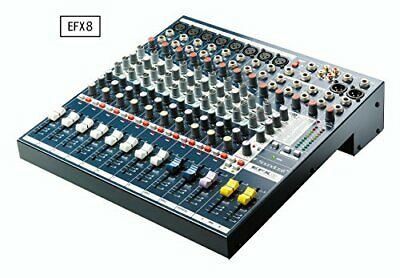 Soundcraft Sound Craft Equipped With Effector Analog Mixer Efx8