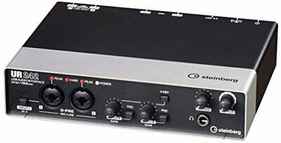 Steinberg 4X2 Usb2.0 Audio Interface Ur242 Equipped With Convenient • 209.26£