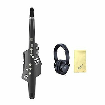 With Love Song Cross Genuine Headphones / Rh 5 Roland Aerophone Ae 10G Graphite • 880.40£
