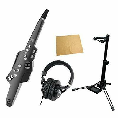 Roland Ae 10G Aerophone Graphite Black Stand Headphone Set With Cloth Wind • 880.40£
