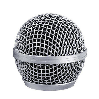 Microphone Grille Windscreen Replacement For Shure SM58 SM58LC SM58SK SM58S • 2.59£