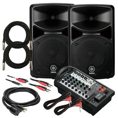 Yamaha STAGEPAS 400BT Portable PA System CABLE KIT • 682.69£