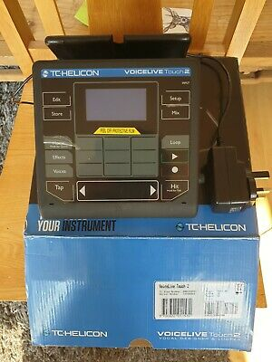 TC Helicon Voicelive Touch 2 Portable Vocal Effects And Looper Hardly Used • 176£