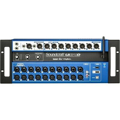 Soundcraft 24-channel Digital Mixer/USB Multi-Track Recorder With Wireless • 803.86£