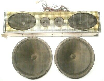 SEEBURG SS160 JUKEBOX: Working  6 SPEAKER SYSTEM 2 BASS & 2 -9 X6  & 2-3  & BOX • 107.53£