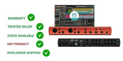 Esi U86 Xt 8 In 6 Out Usb Audio Interface Mic Preamp+ Bitwig Software Mac & Pc • 268.45£