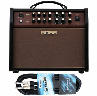 Boss Acoustic Singer Live Lt Amplifier + Keepdrum Plug Cable 3M • 360.31£