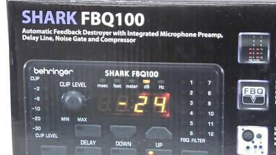 Behringer Shark FBQ100 Automatic Feedback Destroyer • 145£