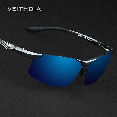 Veithdia Mens Aluminum Polarized HD Sunglasses Driving Sports Air Force Glasses • 11.69£
