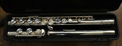 Yamaha Flute YFL-212 + Case Excellent Condition Silver Plated • 335£