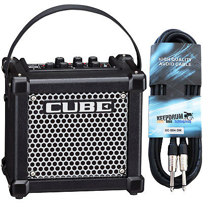 Roland Micro Cube GX Guitar Amplifier Black+Cable • 138.81£