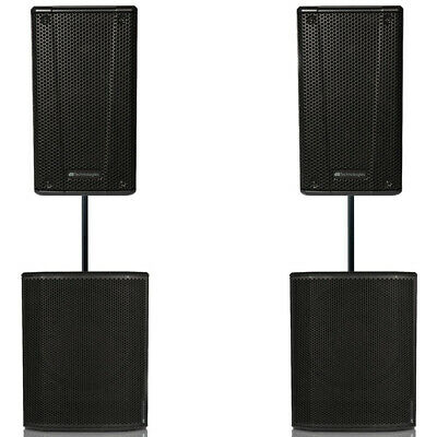 Db Technologies Opera 12 Active Speakers Includes Db 612 Subs • 1,550£