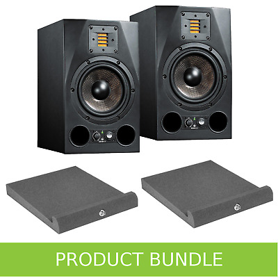 Adam Audio A7X 7  Studio Monitors With Isolation Pads Bundle • 1,013£
