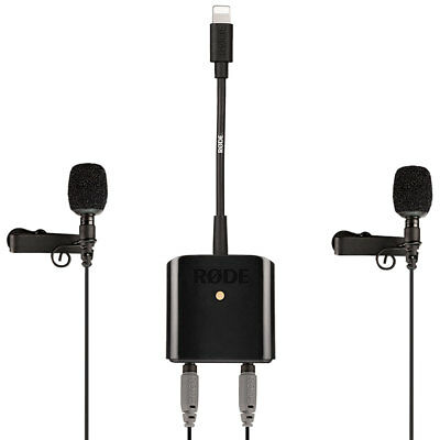 Rode SC6-L Mobile Interview Kit Incl Ansteck-Mikrofone • 187.01£