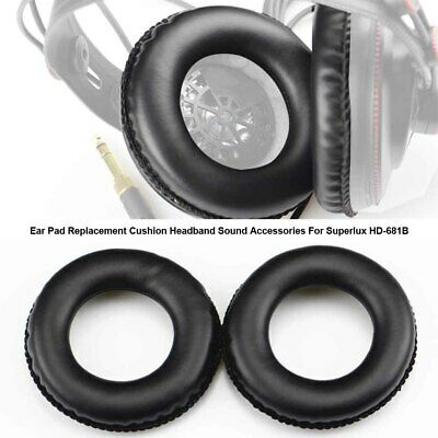 Block Noise Headband Ear Pad Replacement Cushion Sound For Superlux HD-681B • 3.34£