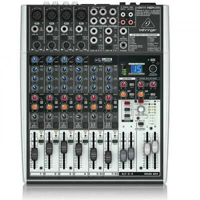 Behringer XENYX X1204USB 8 Channel Analog Mixer And USB Interface 230V • 149.99£