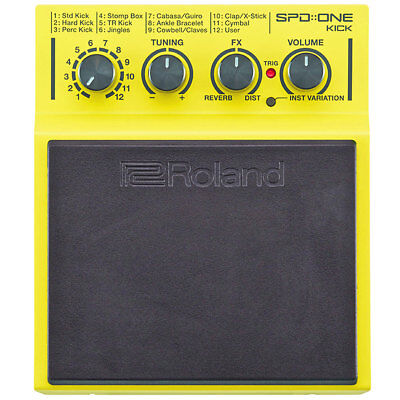 Roland SPD One Kick Percussion Pad With 22 Sounds • 215.12£
