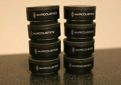 IsoAcoustics ISO-Puck - Monitor Isolation - Set Of 8 • 86.88£
