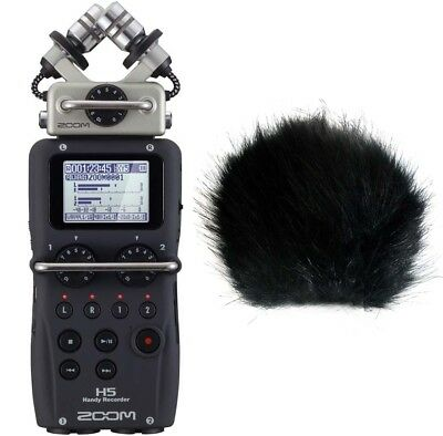 Zoom H5 Mobil-Recorder + Fur Wind Protector • 275.04£
