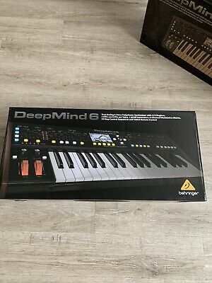 Behringer Deepmind 6 True Analog 6-Voice Polyphonic Synthesizer Studio • 360£
