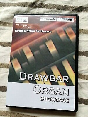 Drawbar Organ Showcase - Registration Software For Yamaha Genos, Tyros5, Tyros4 • 20£
