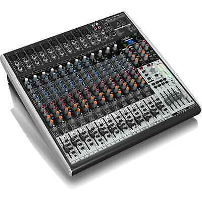 Behringer Xenyx X2442USB 24 Channel Mixer With USB Audio Interface • 259£