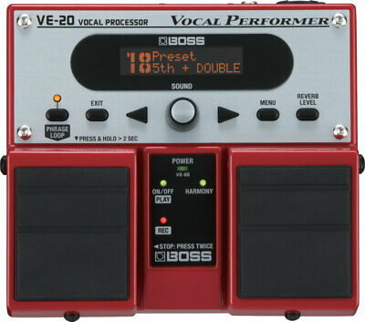 Boss VE-20 Vocal Performer Processor Effects Pedal Stompbox • 239£