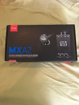 Fender MXA2 Stereo In-Ear Monitors With PreSonus HP2 Amplifier BRAND NEW In Box! • 76.08£