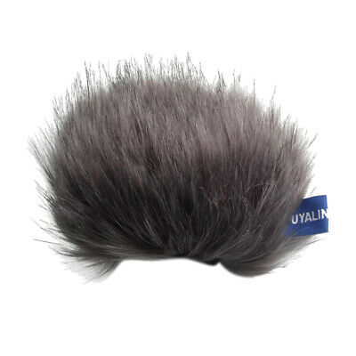 Outdoor Mic Furry Windscreen Muff Cover For Tascam DR-44WL Stereo Microphone • 4.22£