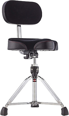 Gibraltar 9608Mb Bike Seat Style Large Cordura Drum Throne With Backrest • 185.94£