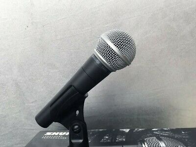 Shure SM58LC Dynamic Wired XLR Professional Microphone New In Box SM58 • 49.68£