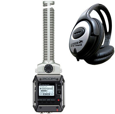 Zoom F1-SP Field Recorder With Directional Microphone + Headphones • 231.10£