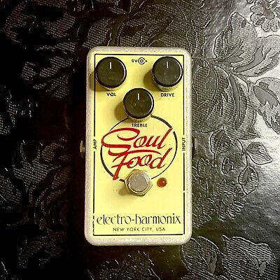 Electro-Harmonix Soul Food – Transparent Overdrive Pedal • 69£
