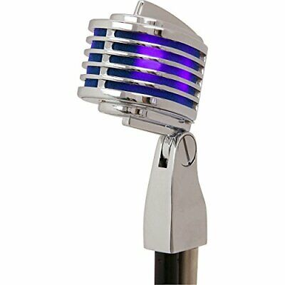 Heil Sound The FIN Dynamic Microphone-Chrome W. Blue LED's-- ProSoundUniverse. • 168.62£