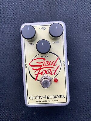 Electro Harmonix Soul Food Overdrive Guitar Effect Pedal. • 65£