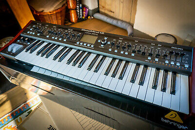 BEHRINGER DEEPMIND 12 True Analog Polyphonic Synthesizer -Step Control Sequencer • 499£
