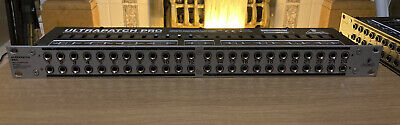 Behringer Ultrapatch Pro PX3000 48-point Balanced Patchbay Excellent Condition • 16£
