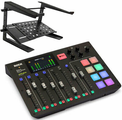 Rode Rodecaster Pro All-in-One Podcast Station + Keepdrum HA-LS20 Laptop • 591.12£