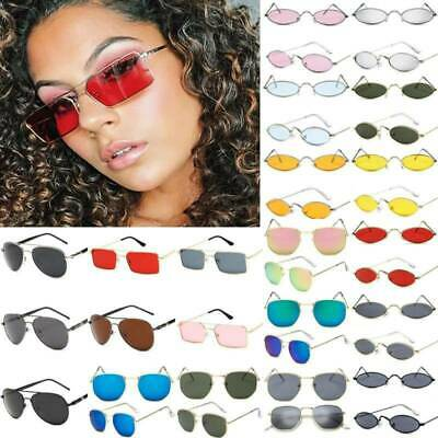 Men Women Polarized Sunglasses Metal Frame Retro Sun Glasses Outdoor Travel UV • 3.22£