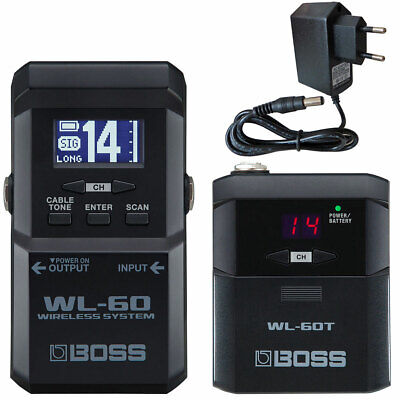 Boss WL-60 Wireless Funk-System For Guitar + Keepdrum Power Supply 9V • 257.48£