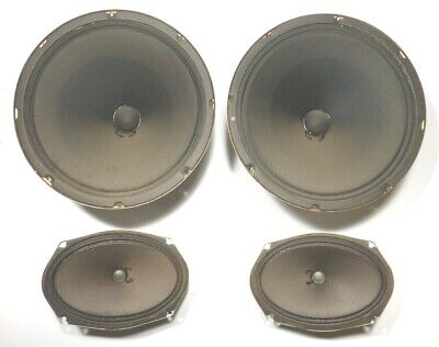 SEEBURG LS1 JUKEBOX:  Working  SPEAKER SYSTEM TWO - 12  & TWO 6  X 9  & CAPS • 71.68£